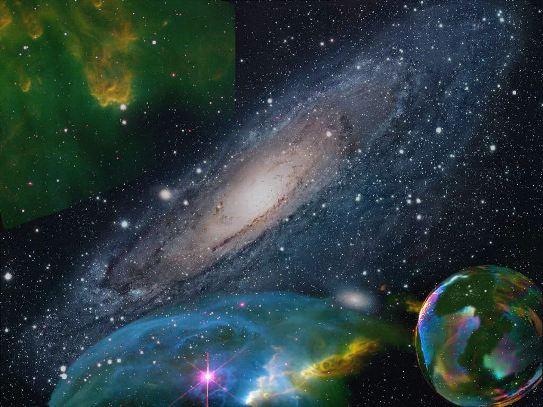 Części wszechświata
